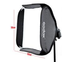 Godox Softbox Bag Fit Bowens Elinchrom Mount For Camera Studio Flash 50x50cm