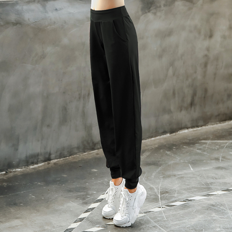 Women Yoga Pants Harem Loose Stretch Female Yoga Sport Trousers Bloomers Running Jog Fitness Gym Track Casual Pants Sweatpants in Yoga Pants from Sports Entertainment