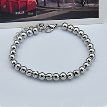 oulai777 stainless steel beads bracelet men male jewelry accessories chain original charm personalized for 2019