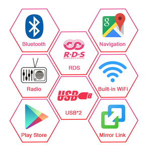 """Image 3 - AUTOTOP 7 """"Radio 2 Din Android 10.0 Car Multimedia Player per Opel,Opel Astra H,G,J,Opel Corsa D,Vectra C PX5 4G 64G DSP Carplay"""