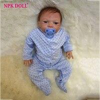 20 Fashion Baby Doll Reborn America Boneca Baby Doll Realistic Silicone Vinyl Boy Dolls Kids Gift New Year brinquedos