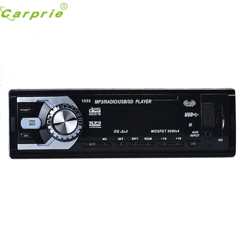 New Arrival Car Audio Stereo In Dash FM With Mp3 Player USB SD Input AUX Receiver