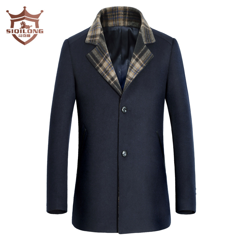 Online Buy Wholesale long winter coats for men from China long