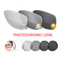 1.56 Photochromic Gray Lens Sunglasses Prescription SPH 7.00 To +7.00 Max CLY 5.00 Optical Lenses for Eyewear Diopters U01
