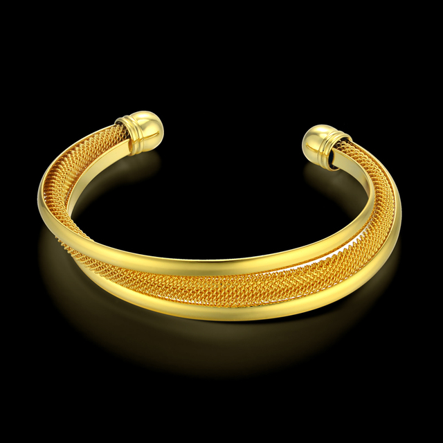 Indian Bangles Gold Plated Turkish Jewelry Christmas Gift, Vintage Women / Men Cuff Bracelet Supernatural Wedding Jewelry Sale