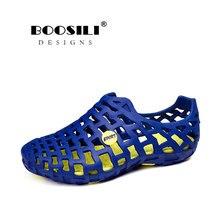 New Arrival Big Size 2019 Lovers Clogs Antiskid Outdoor Lightweight Assage Sandals Fashion Men Beach Shoes