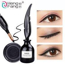 Long-Lasting Waterproof Liquid Eyeliner Black Cream Eye liner 2.5g Eyes Makeup Brand HengFang #52253
