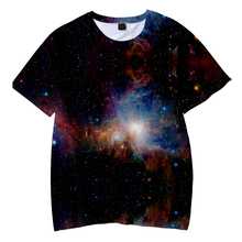 LUCKYFRIDAYF New Starry Sky 3D Short Sleeve Cool Skull Print T-shirts Men/Women Summer TShirts Fashion Tops Tee 4XL