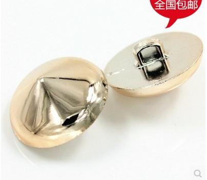 Unique creative spire plastic plating rose gold DIY clothing textiles hand sewing buttons wholesale 200pcs/lot
