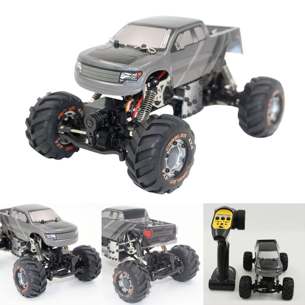 RC Car 2.4G Rock Crawler Car 4 WD Simulation Racing Car 1 / 24 Off-Road Vehicle Buggy Light Weight Electronic Model Toy Kid Gift rc car 2 4ghz rock crawler rally car 4wd truck 1 16 scale off road race vehicle buggy electronic rc model toy 9504 yellow