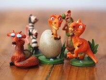 pvc figure G lacier squirrel dinosaur egg sword thorn doll ornamentsl 5pcs/set
