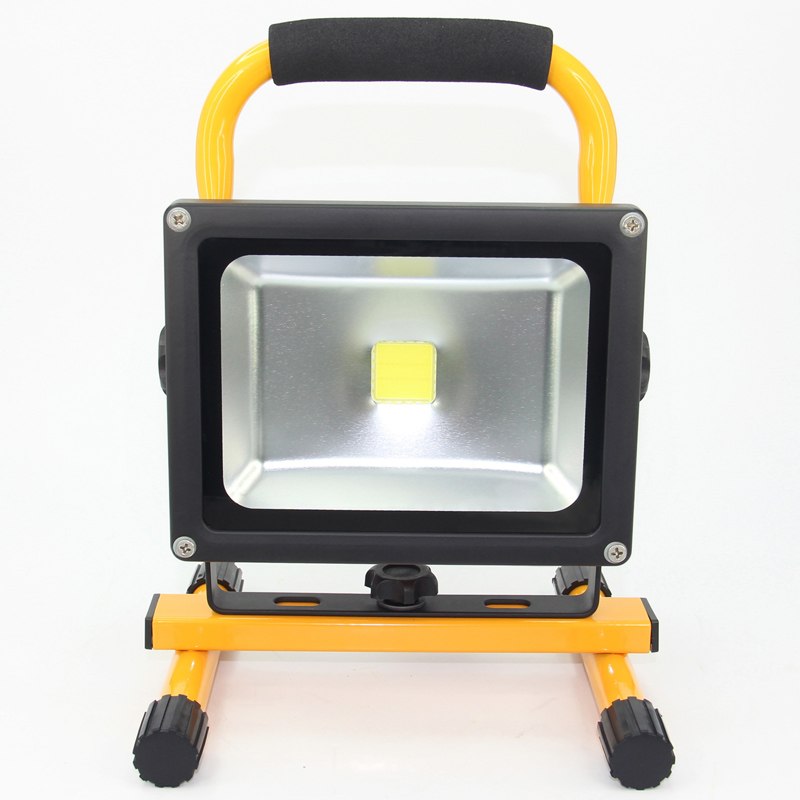 Led Flood Light Rechargeable 20w: LED Floodlight Spotlight 20w Portable Rechargeable Flood