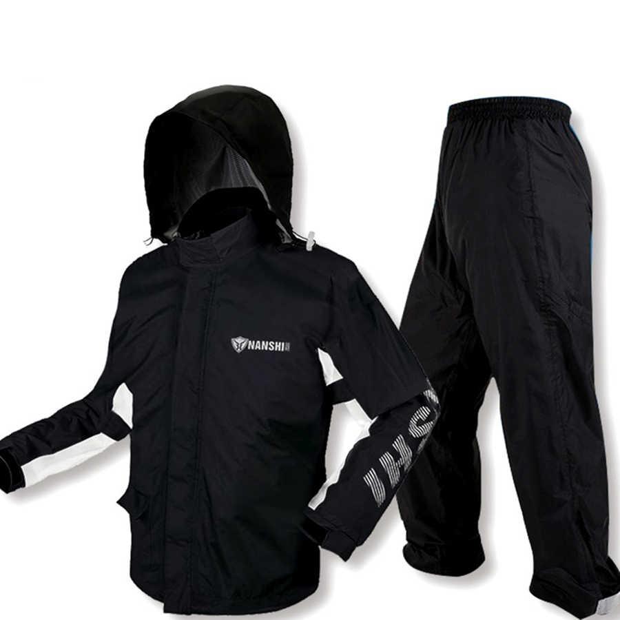 Chaqueta impermeable larga para hombre, chaqueta impermeable para senderismo, Poncho para mujer, chaquetas para hombre, traje de lluvia Chuva, impermeable con capucha RBY034