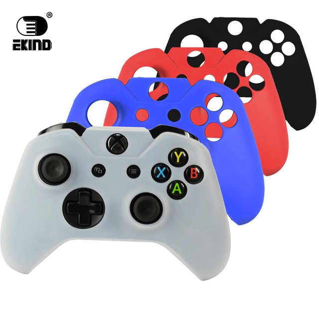EKIND Gamepad Silicone Case Cover Joystick Soft Silicone Protective Case Skin Cover for Xbox ONE Controller
