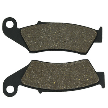 Cyleto Motorcycle Front Brake Pads for HONDA XLR 125 98-01 XR 125 XR125 03-08 CTX 200 2004 2005 CRF 230F 230 CRF230F 2003-2015 image