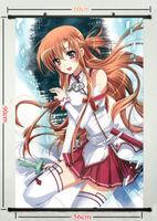 Sword Art Online 2 Art Wall Scroll Silk Poster 60x90cm Sexy Japanese Anime Girl
