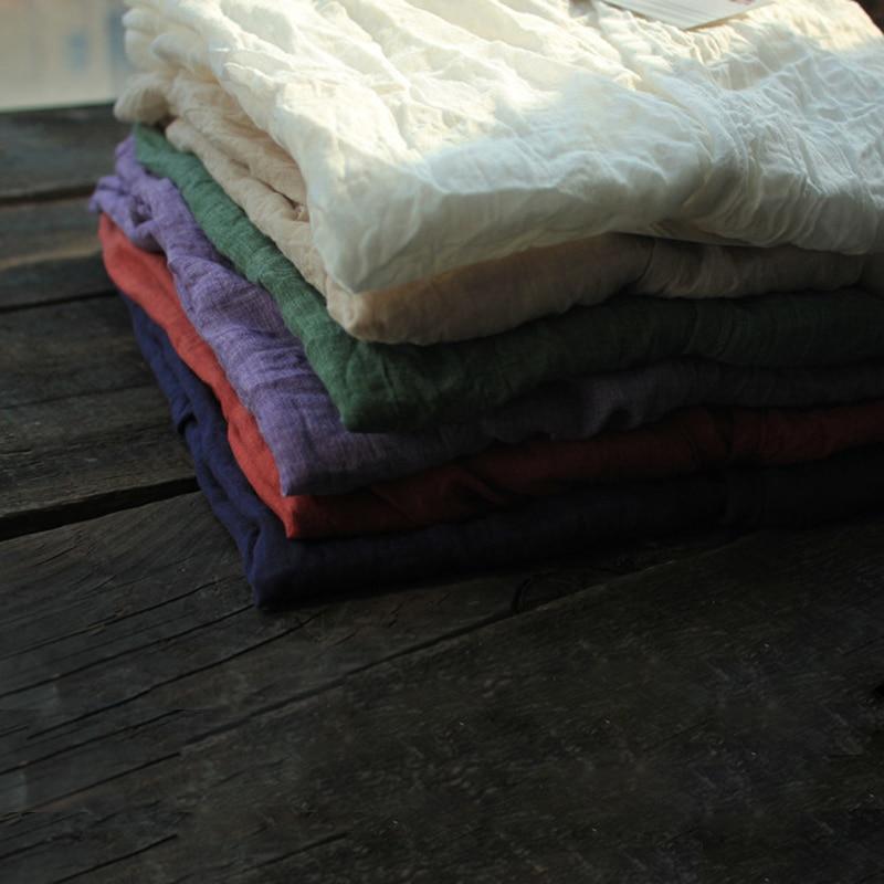 Camisa púrpura verde naranja Coat Mujeres Protección Nature blanco Verano Size Blusa Algodón Solar Suelto Plus Larga Cardigans wtpZ1