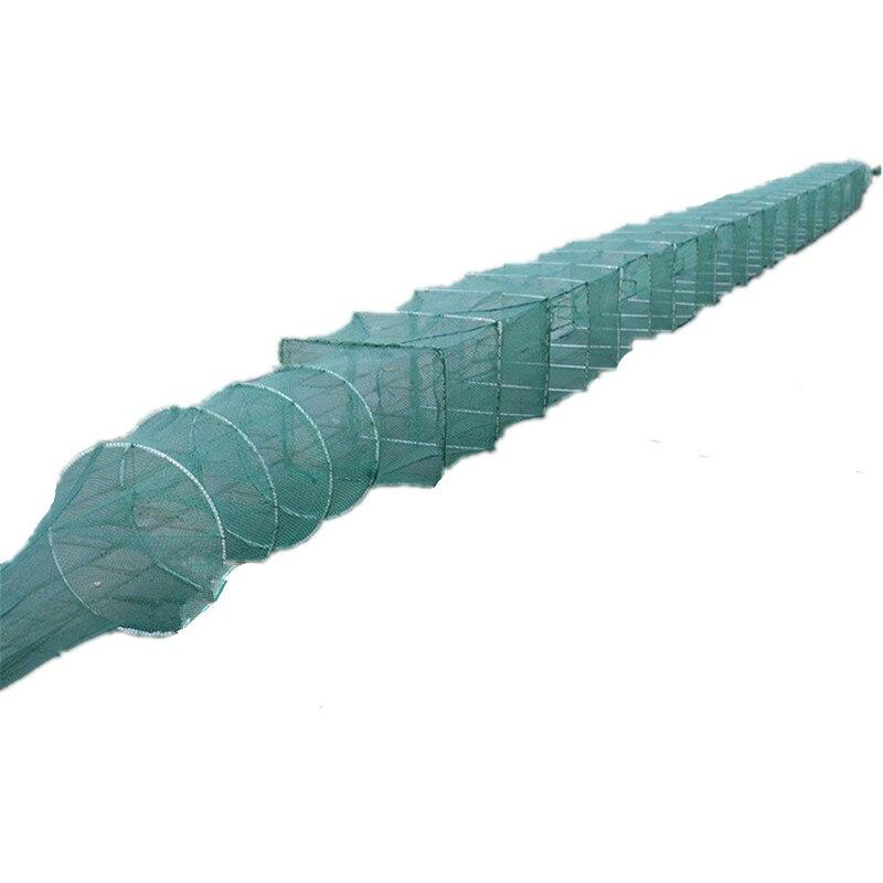 10 m de pesca rede de pesca de camarao gaiola gaiola gaiola chao vermelho pesca epuisette