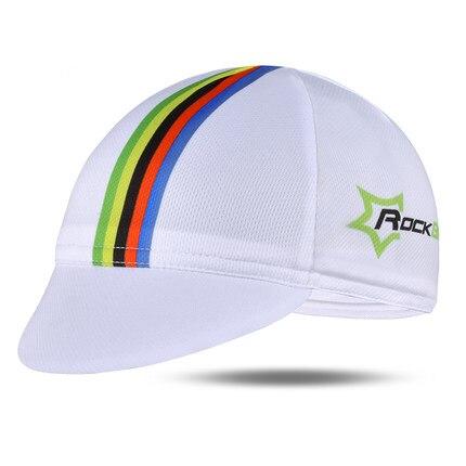 ROCKBROS Мужская велосипедная Кепка для горного велосипеда, велосипедная командная Кепка, дышащие спортивные солнцезащитные кепки для активного отдыха, 7 цветов - Цвет: White 2