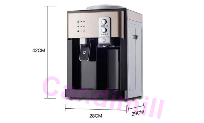 water dispenser size