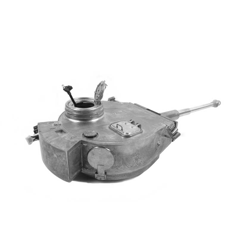 Mato Tiger 1 Metal Complete Turret With Electronic Part For 1/16 1:16 RC Germany Tiger 1 RC Tank-in Parts & Accessories from Toys & Hobbies    2