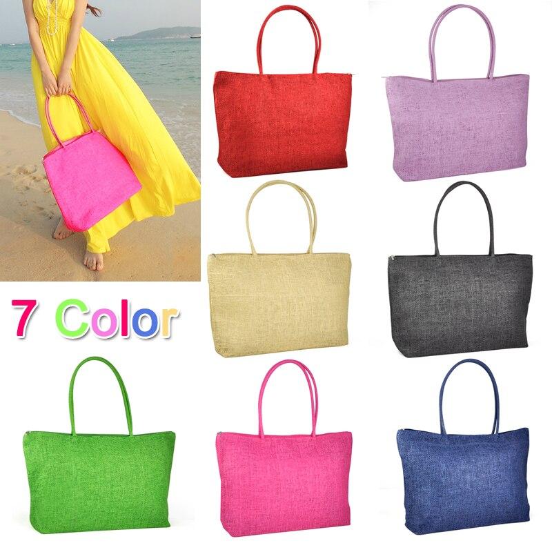 AFBC Hot New Design Straw Popular Summer Style Weave Woven Shoulder Tote Shopping Beach Bag Purse Handbag