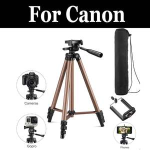 Portable Camera Camcorder Tripod Stand For Canon Eos Rebel Sl1 Eos 100d Sl2 200d