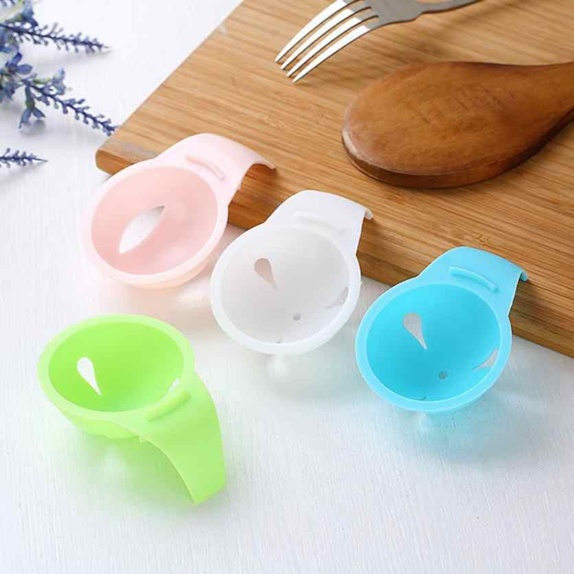 Mutfak Aracı Gadget Uygun Mini Yumurta Sarısı Beyaz Ayırıcı Bölücü Tutucu Elek Kullanımı Kolay Güvenli Şeffaf Iyi Bir Yardımcı