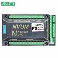 NVUM CNC Controller MACH3 USB Interface Board Card 200KHz For Stepper Motor 3 Axis