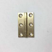 1PCS 1.5,2,2.5,3inch brass cabinet hinges dresser cupboard door hinges for furniture hardware