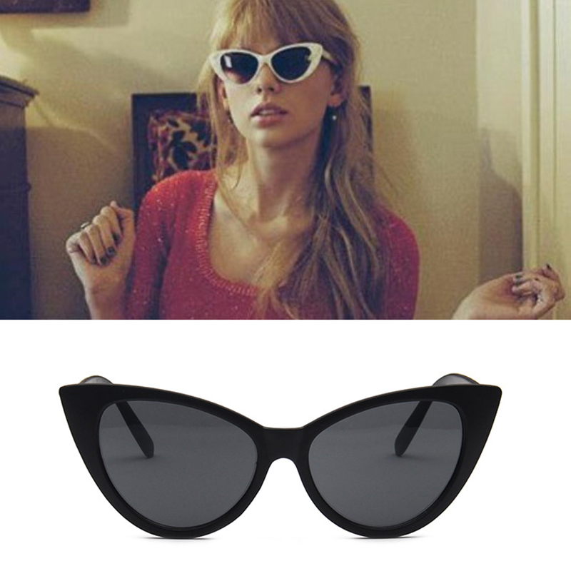 XIWANG Euro-American retro cat-eye sunglasses Fashion Glasses personality outdoor trend anti-ultraviolet glasses 8829