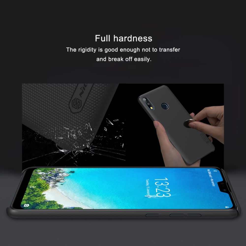 สำหรับ Huawei Honor Play 8A NILLKIN Frosted Shield เคลือบด้านหลังปกแข็งสำหรับ Huawei Honor Play 8A โทรศัพท์กรณี