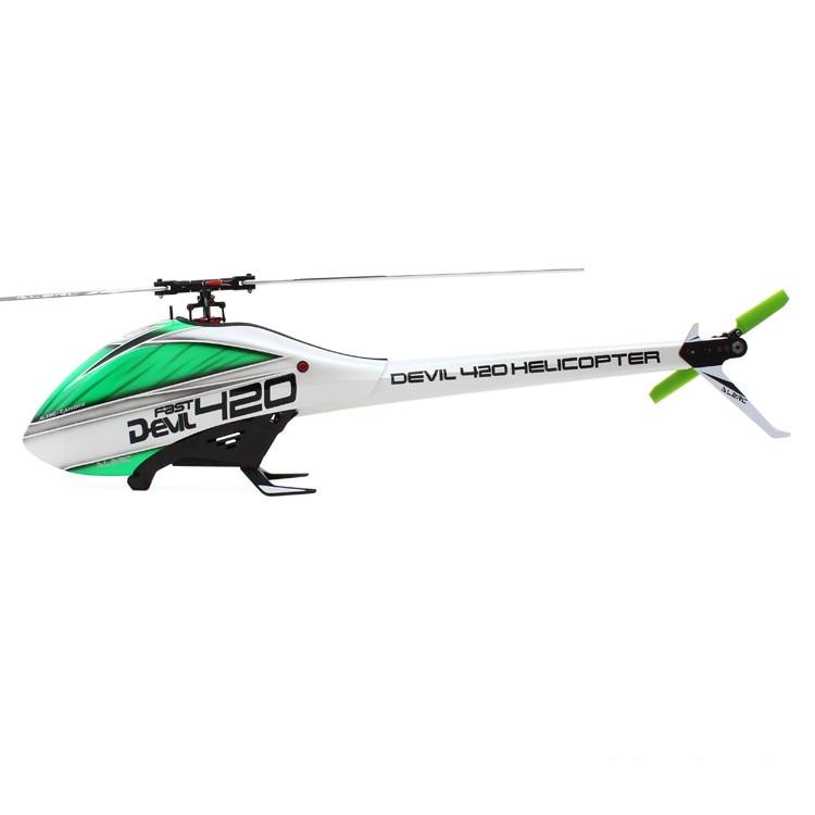 ALZRC - Devil 420 FAST FBL KIT - Black  17H420-PB-K звездочка для мотоциклов wingsmoto atv dirtbike 420 17 20 420 17