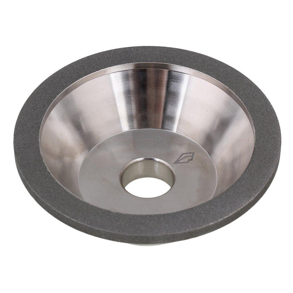 Dia 100mm Grit 600  Electroplate Coating Diamond Grinding Wheel Cup Grinder NIB