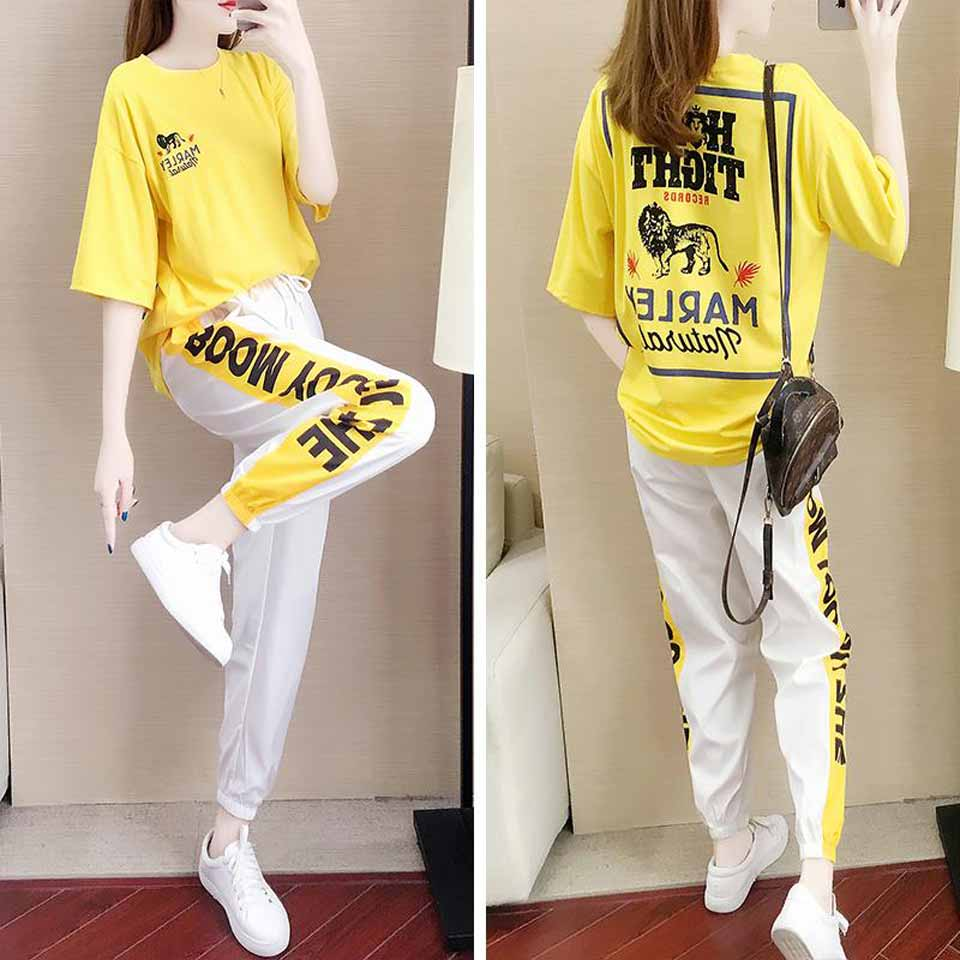 2019 New Girls Summer Clothing Set Elegant Kids Clothes White Suit For Girl 12-20 Years Children's Costumes Casual Shirt+Pants 26