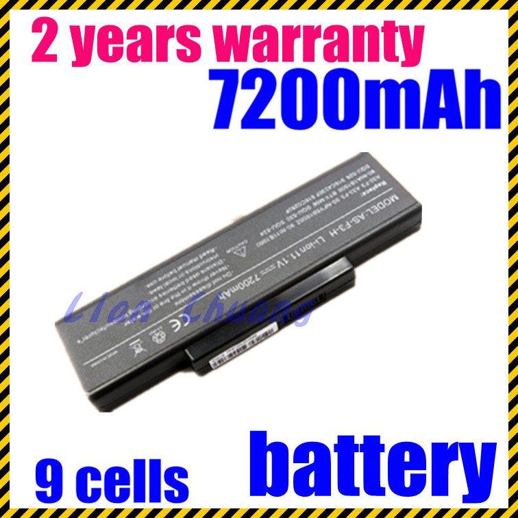 JIGU Free shipping 6600mAh  Replacement laptop battery for ASUS A9 F2 F3S SQU-528 Z53 Z A32-F3 A32-F2 90-NI11B1000 90-NIA1B1000JIGU Free shipping 6600mAh  Replacement laptop battery for ASUS A9 F2 F3S SQU-528 Z53 Z A32-F3 A32-F2 90-NI11B1000 90-NIA1B1000