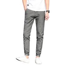 Brand Designer Casual Social Casual Mens Pants Mid Waist Slim Fit Hot Sale Men's Trousers 38 36
