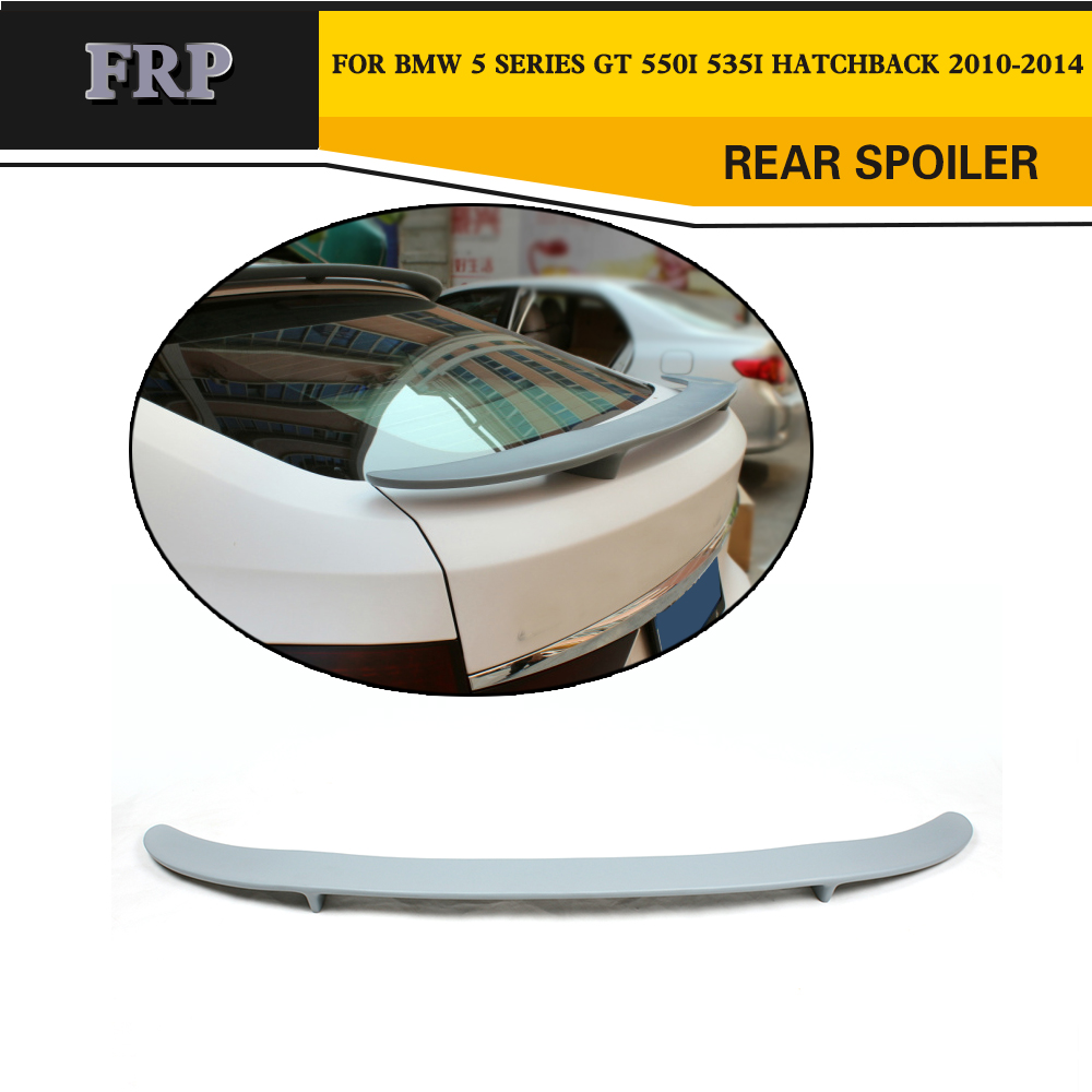 FRP Car Rear Spoiler Wing Lip Style for BMW 5 Series GT 550i 535i Hatchback 2010 2014