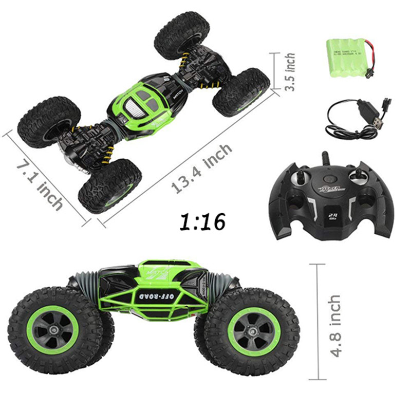 rc transform stunt car.