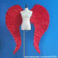 DIY decorations Angel series supply BIG size red fairy wings Wedding Grand event easter shooting props EMS free shipping
