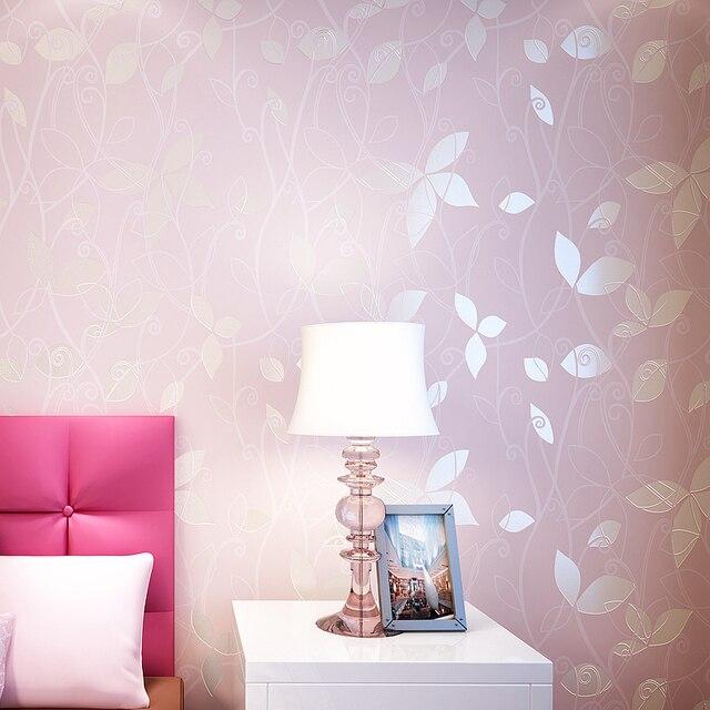 US $19.61 40% OFF|Moderne Vlies Tapete Floral Tapeten 3D Blume  Wandverkleidung Papel De Pared Für Schlafzimmer Dekorative 3D Wand Papiere  decor in ...