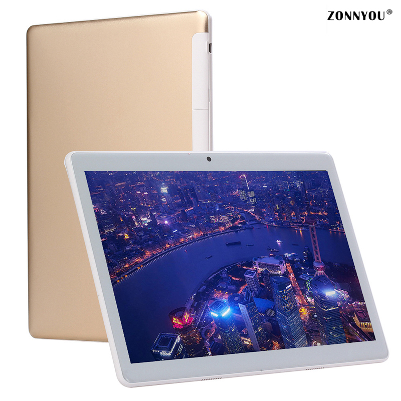 10.1 inch Tablet 3G Call Octa Core 4GB RAM 64GB ROM 1280*800 Dual Cameras 3G LTE Android 7.0 OS Tablet 10.1 2.5D Glass lnmbbs metal new function tablet android 7 0 10 1 inch 1 gb ram 16 gb rom 8 core dual cameras 2 sims 3g phone call gps
