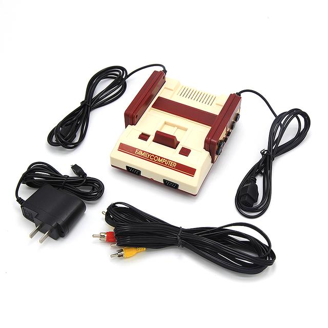 Familia de Video Consola de Juegos con Cable AV Clásico Tv Familia Consolas de Videojuegos Jugador Con Envío 400 In1 Juego de Dos controlador