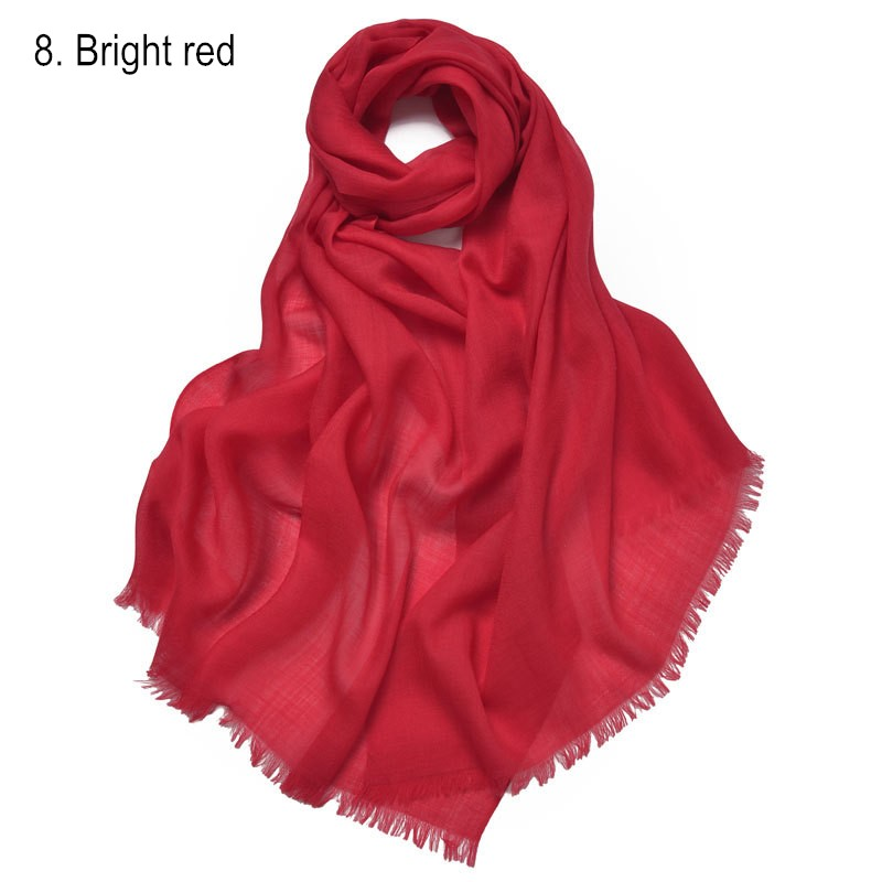 8. Bright red