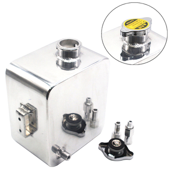 Réservoir d'eau réservoir de refroidissement trop-plein + Kit bouchon 2.5L aluminium voiture Expansion