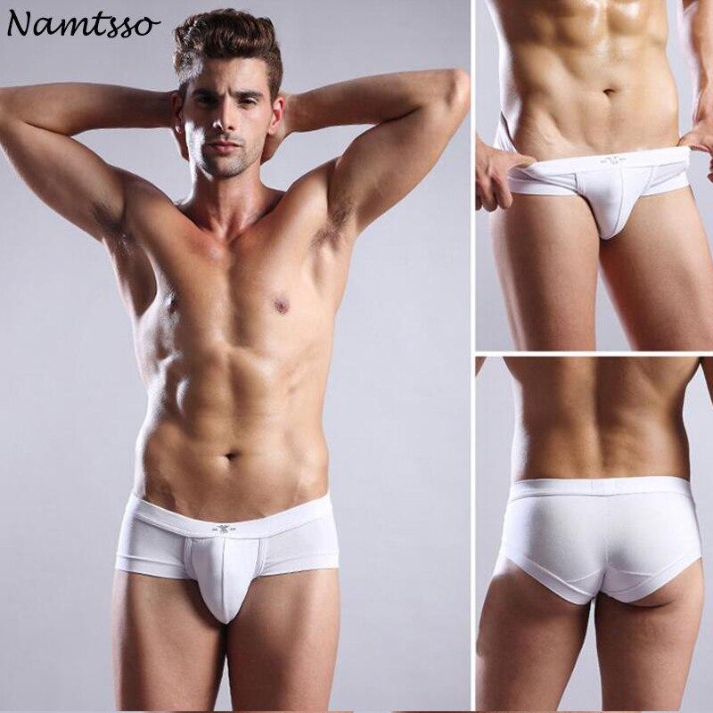 Men Underwear Modal Briefs Brand Geba Mens Underpants Brief Gay Penis Pouch Classic Triangle Pants