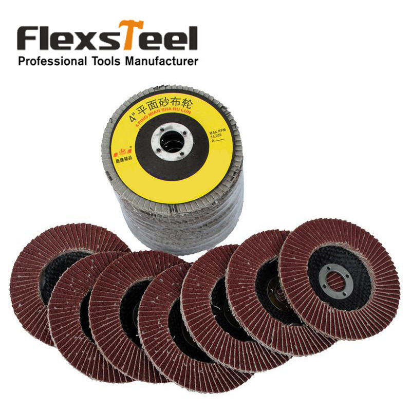 10 Pieces Premium 4 10cm Auto Body Sanding Flap Discs Grinding Sanding Polishing Wheels Polished Wafers Wheels Be Novel In Design Tools