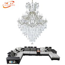Modern Classic Crystal Chandelier Lighting Maria Theresa Light LED Classical Hotel Restaurant Hanging