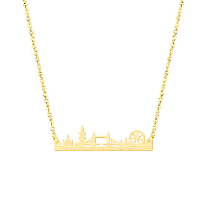 Vintage Λονδίνο Skyline κολιέ κρεμαστό - Κοσμήματα μόδας - Φωτογραφία 5