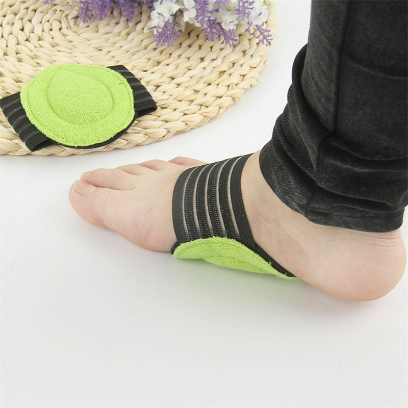 Outdoor Sport Shoes Insole Arch Assist Support Insole Heel Pain Relief Orthosis Pad erkek spor ayakkabi Sneakers Accessoires in Sneaker Accessories from Sports Entertainment